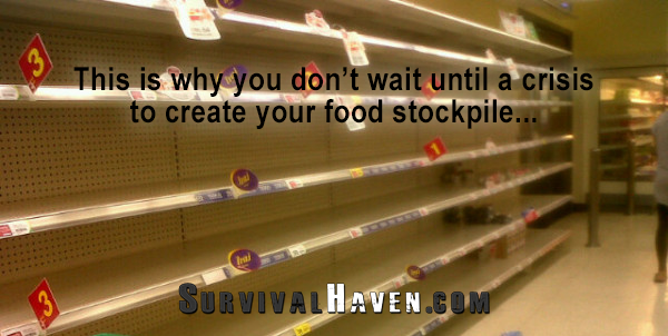 Best Survival Foods To Stockpile With A Long Shelf Life