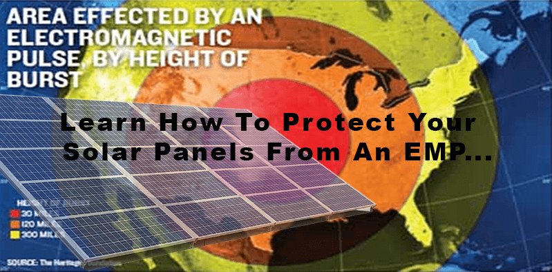 How To Protect Your Solar Panels From An Emp